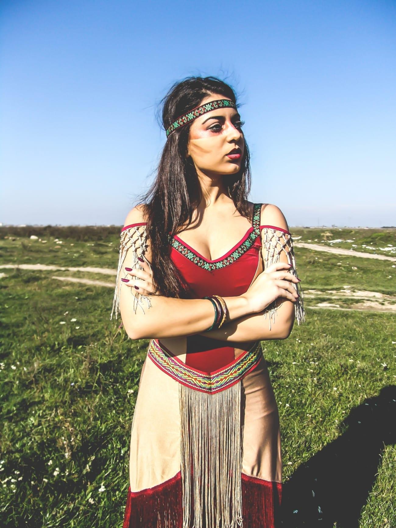 roxi rose fashion blog romania halloween indian native costume wildfashion (1)